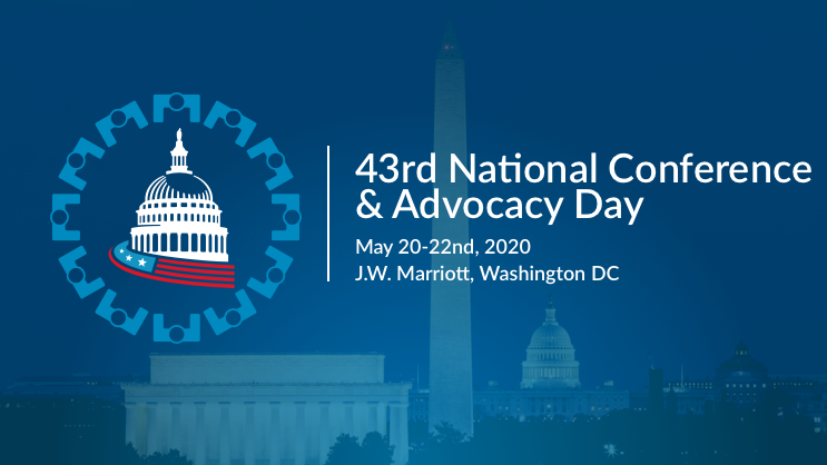 43rd Annual National Conference & Advocacy Day in Washington DC