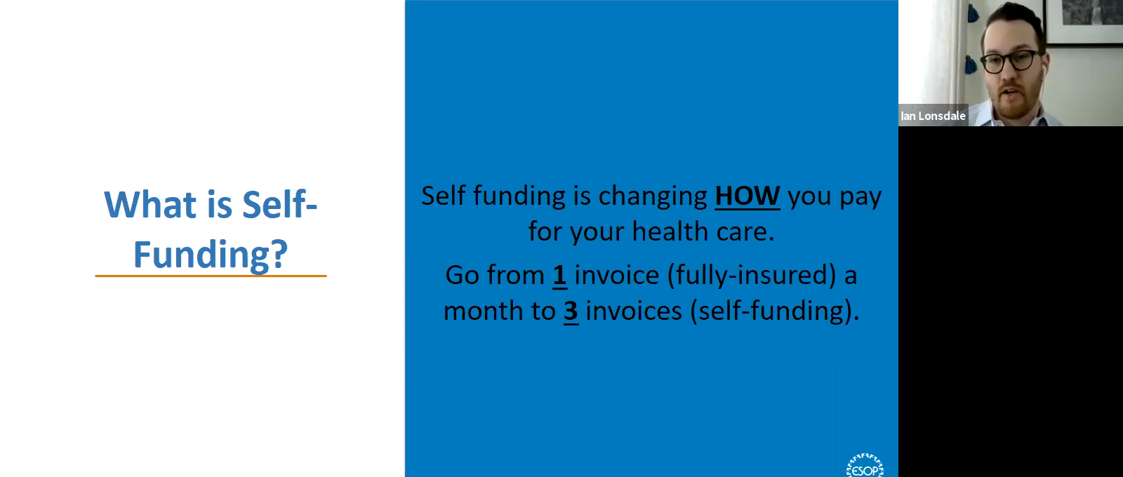TEA Webinar on Self Funding Health Care